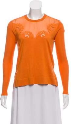 Fendi Silk Knit Top
