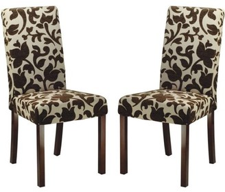Safavieh Parsons Dining Chair, Set of 2, Floral