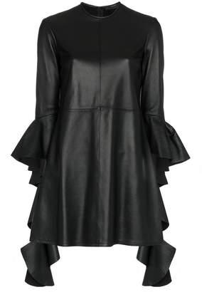 Ellery Kenny leather mini dress