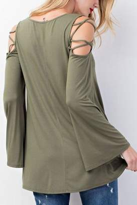 Easel Lueca Top (Olive)