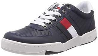 136e2897c57ba7 Tommy Jeans Hilfiger Denim Men s Lifestyle Basket Sneaker Low-Top