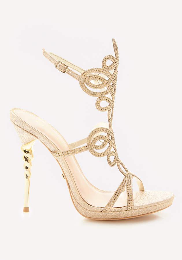 Delja Jeweled Sandals