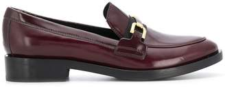 Geox front buckle loafers