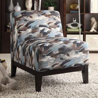 Acme Hinte Oversized Fabric Slipper Chair, Multiple Colors