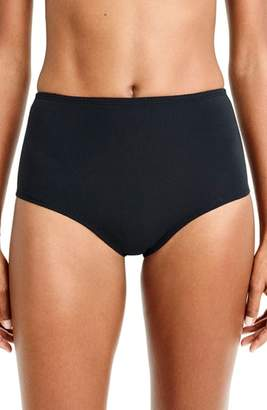 J.Crew Pique High Waist Bikini Bottoms