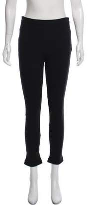 Givenchy High-Rise Straight-Leg Pants
