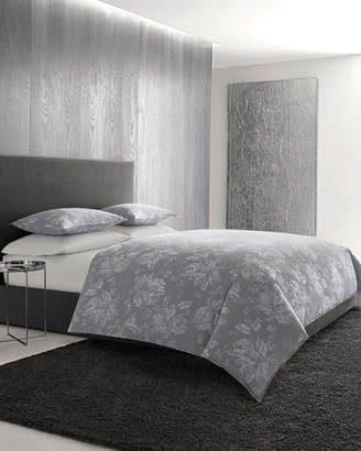 Vera Wang Transparent Leaves King Duvet Set