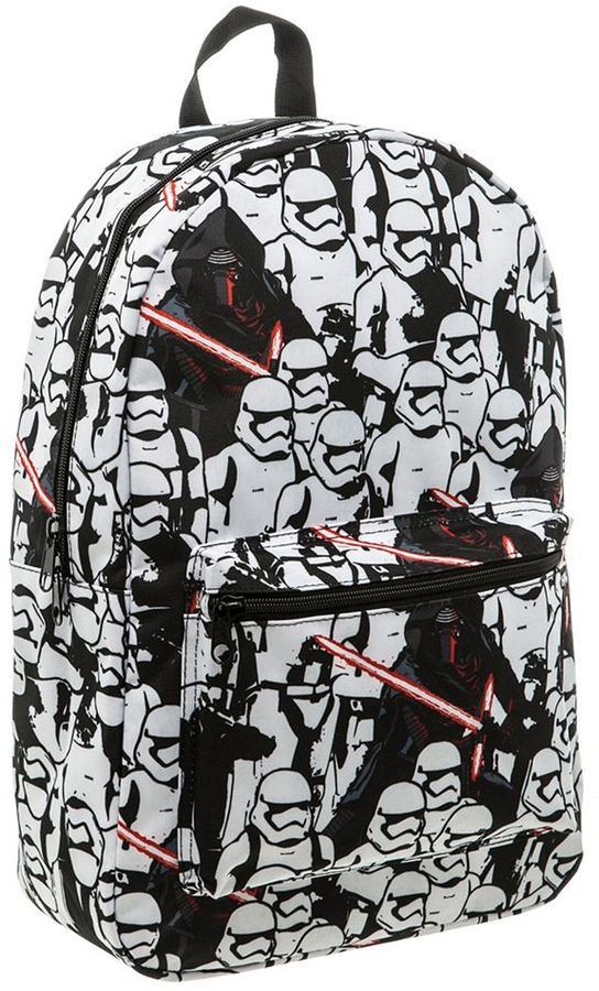 National brand Star Wars: Episode VII The Force Awakens Stormtrooper & Kylo Ren Backpack