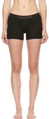 Calvin Klein Underwear Black Cotton Boy Shorts