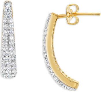 Fashionvictime Ohrringe Ohrringe Damen - Vergoldet Modeschmuck - Zirkonia