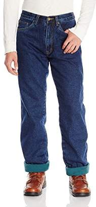 Stanley Tools Men's Workwear 5 Pocket Polar Fleece Lined Denim Jean