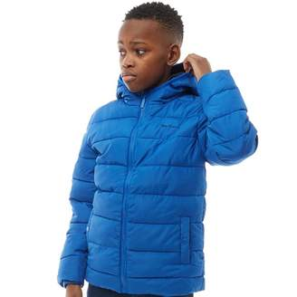 Ben Sherman Junior Boys Padded Puffer Jacket Nautical Blue