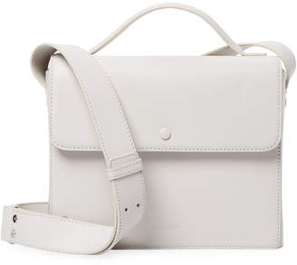 Steven Alan Beckham Boxy Top Handle Leather Satchel