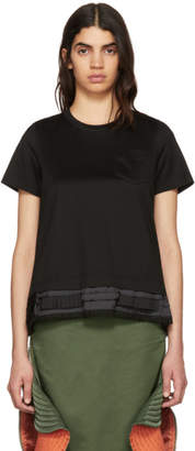 Sacai Black Trim T-Shirt