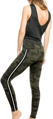 Strut This strut this SAGE ANKLE- GREEN CAMO/SILVER ELASTIC