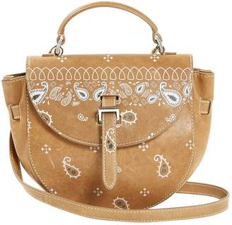 Meli-Melo Camel Leather Handbag