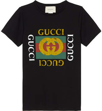 Gucci 'GG' logo cotton T-shirt