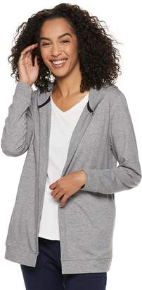 f50c946a612 Sonoma Goods For Life Women s SONOMA Goods for Life Hooded Cardigan