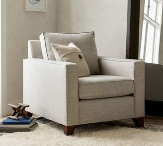 Pottery Barn Cameron Square Arm Deep Seat Upholstered Armchair