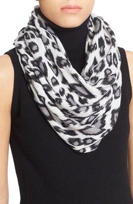 Women's Autumn Cashmere Leopard Print Cashmere Scarf $198 thestylecure.com