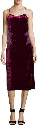 Anna Sui Velvet Slip Dress