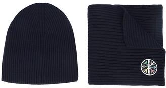 Aztech Mountain 1st Tracks hat & scarf