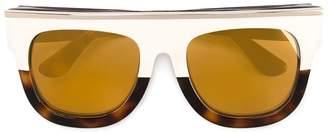 Dax Gabler tonal brown 'N°02' acetate sunglasses