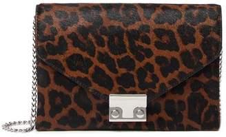 Loeffler Randall JR Genuine Calf Hair Lock Clutch