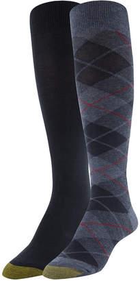 Gold Toe 2-Pk. Plaid Knee-High Socks