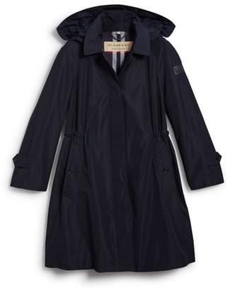Burberry Tringford Waterproof Hooded Coat
