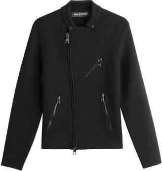 Neil Barrett Asymmetric Zipped Wool Jacket