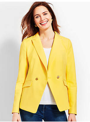 Talbots Double-Breasted Blazer