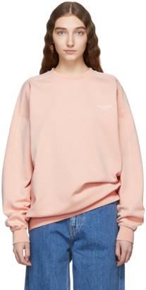 Acne Studios Orange Wora Sweatshirt