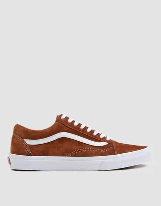 Vans Suede Old Skool Sneaker in Brown