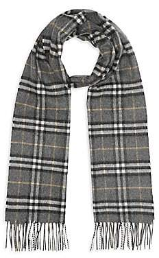 Burberry Men's Vintage Checked Cashmere Scarf