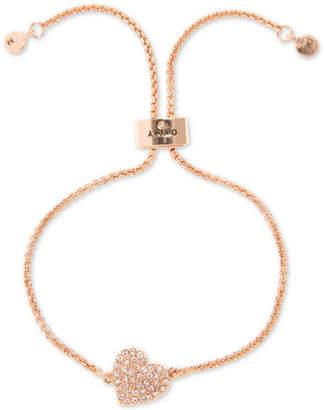 DKNY Pave Heart Slider Bracelet