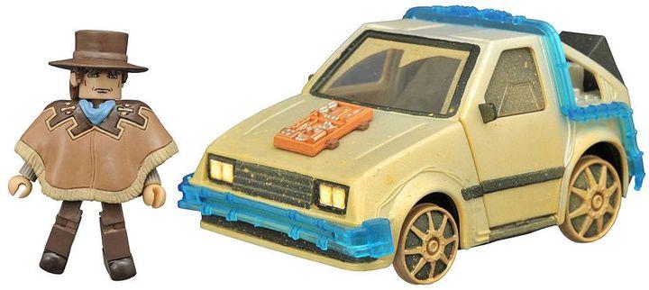 Diamond select toys Back To The Future Minimates Rail Ready Time Machine by Diamond Select Toys