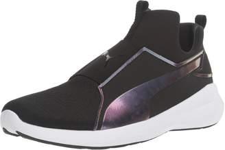 size 40 40df7 cdf60 Puma Women s Rebel Mid WNS Swan Cross-Trainer Shoe Black