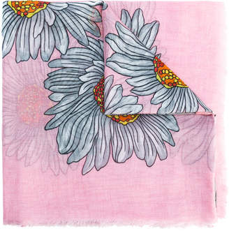 Gucci GG daisy print scarf