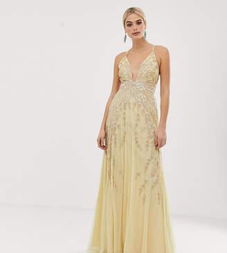 c1d9f783f98 Asos Tall DESIGN Tall embellished maxi dress