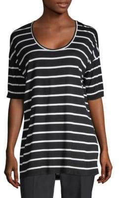 Lafayette 148 New York Kristin Striped Top