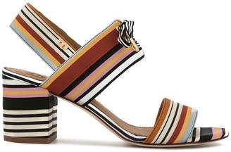 Tory Burch Graham striped sandals