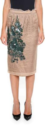 N°21 Tulle And Sequins Skirt