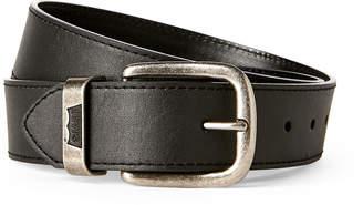 Levi's Black Logo Keeper Casual Belt
