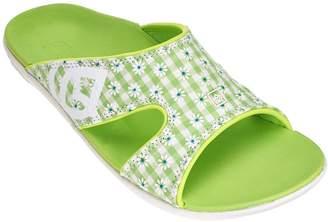 Spenco Orthotic Slide Sandals - Kholo Gingham