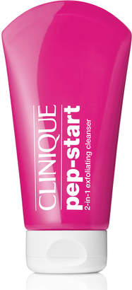 Clinique Pep-Start 2-in-1 Exfoliating Cleanser, 4.2 oz./ 124 mL