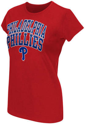 G-iii Sports Women Philadelphia Phillies Endzone T-Shirt