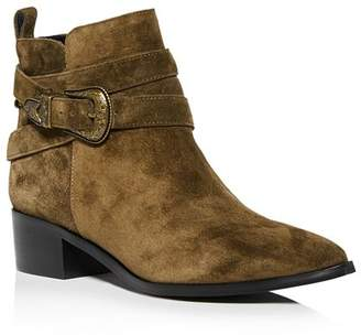 Marc Fisher Women's Mylandi Block-Heel Western Booties