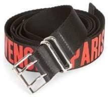 Givenchy Logo-Print Belt