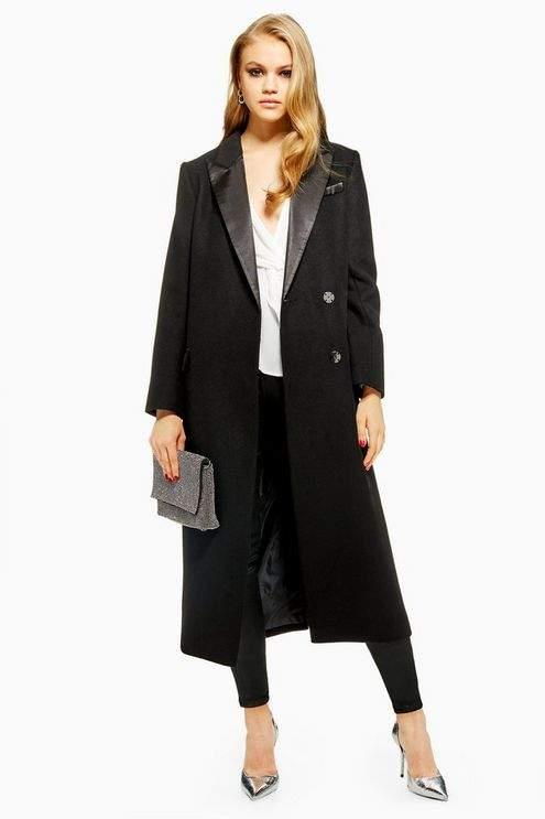 Tuxedo Coat